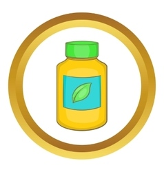 Supplement icon vector image