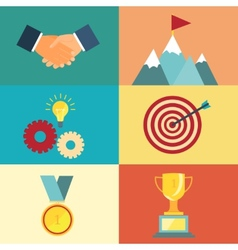 leadership and success vector image vector image