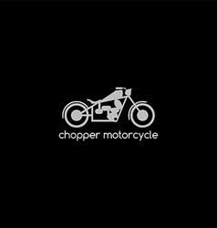 Motorbike logotype theme vector