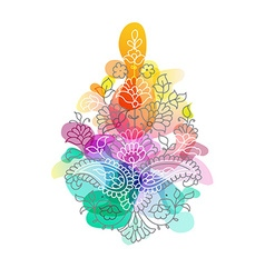 Paisley Ethnic ornament isolated vector image