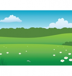prairie background vector image vector image