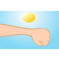skin cancer vector image