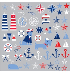 nautical clipart vector image vector image
