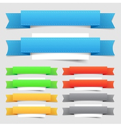 Design elements banners vector image vector image
