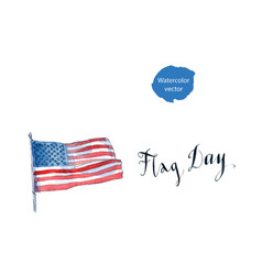 flag day america vector image