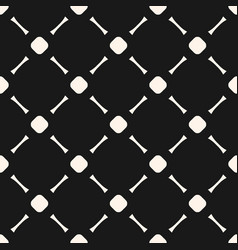 geometric seamless texture with circles and lines vector image