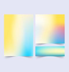 minimal covers design colorful gradients future vector image