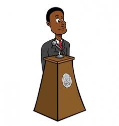 president black vector image