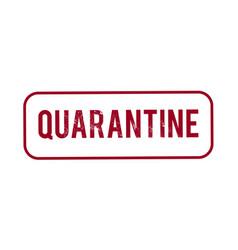 Quarantine stamp stop pandemic coronavirus covid19 vector