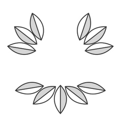 Simple leaves vector