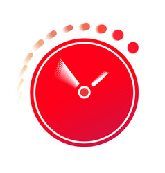 Time flies on the clock vector