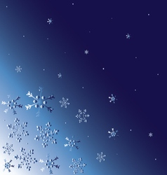 abstract-winter-background vector image