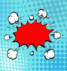 Boom Comic book explosion vector image vector image