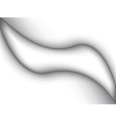 abstract white liquid vector image