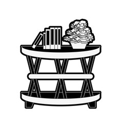 Accent cage table furniture icon image vector