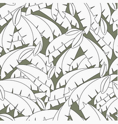 black and white palm leaf jungle background vector image