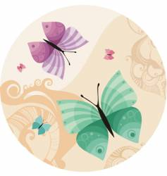 Butterfly illustration vector