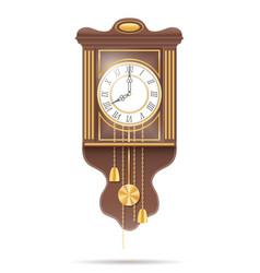 Clock old retro icon stock vector