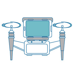 drone remote control digital vector image