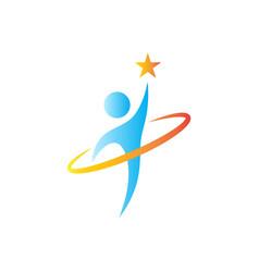 Reach dreams logo vector
