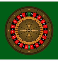 Roulette Wheel Icon vector image