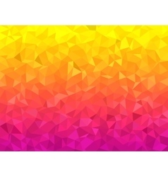 Polygonal Background for webdesign - Pink and vector image vector image