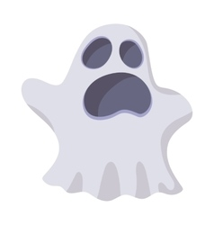Halloween ghost icon cartoon style vector image vector image