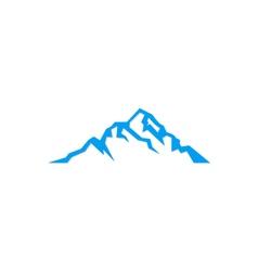 mountain sign logo vector image