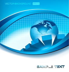 abstract elegant background vector image