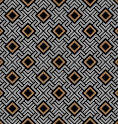 Celtic style geometric seamless pattern vector image vector image