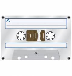 Audio cassette vector