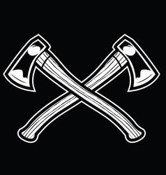 Camping vintage axe adventure outdoor logo 13 vector