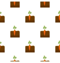 Carrot icon cartoon Single plant icon from the vector image