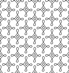 Doodle geometric pattern vector
