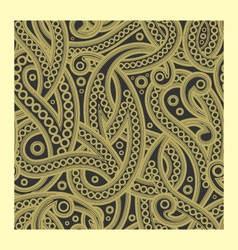Floral seamless ham paisley pattern vector