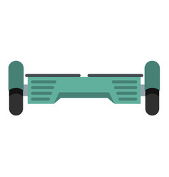 Hover board gyro pod icon isolated vector