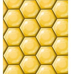 seamless honeycomb wallpaper pattern vector image