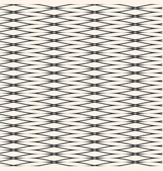 Seamless pattern with horizontally elongated mesh vector