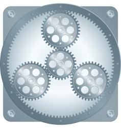 sun gear vector image
