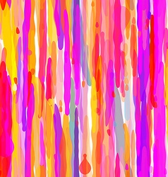 Abstract Colorful Drip Seamless Pattern vector image