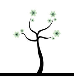 Cute Abstract tree vector image vector image