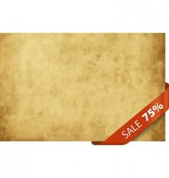 sale tag 25 percentage vector image vector image