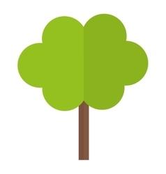 Tree in city scene icon image vector image
