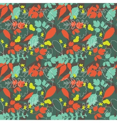 natural seamless background vector image vector image