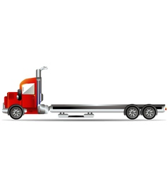 red container car vector image