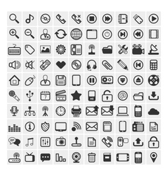 25 icons vector