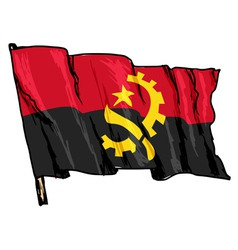 Angola vector