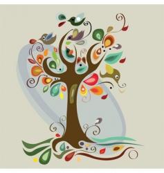 autumn artwork vector image