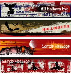 Halloween web vector