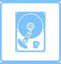 Hdd icon vector